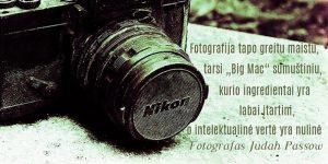 sentencija apie fotografija