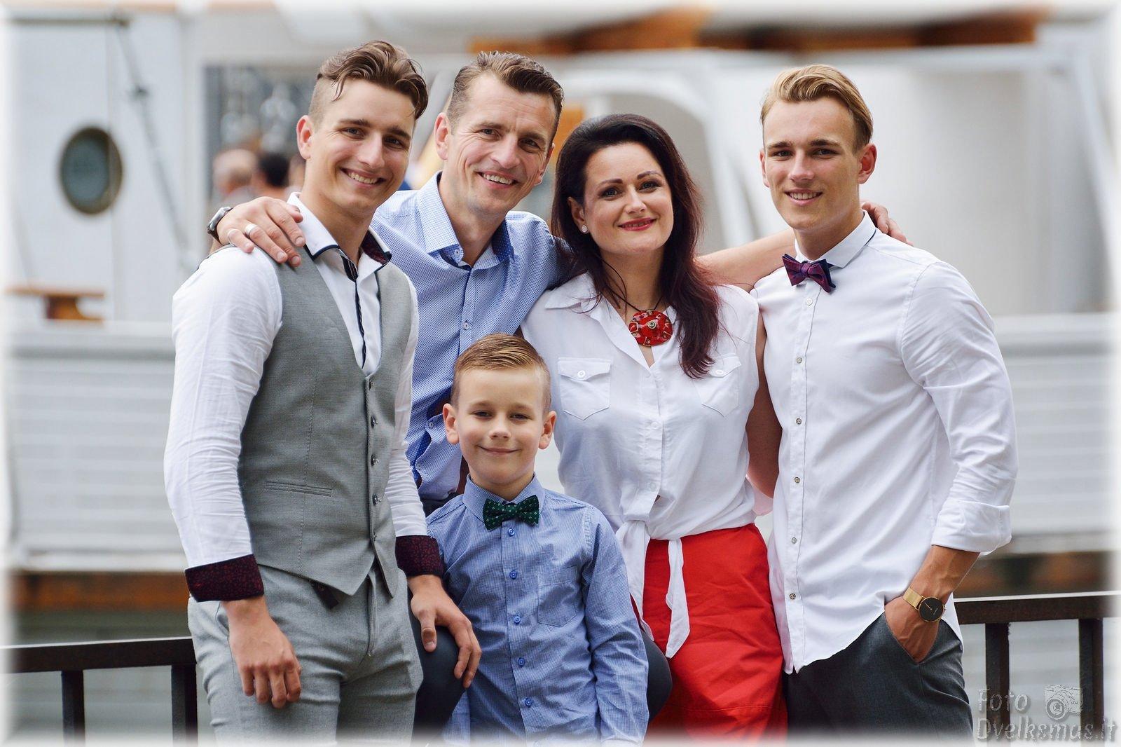 Šeimos foto
